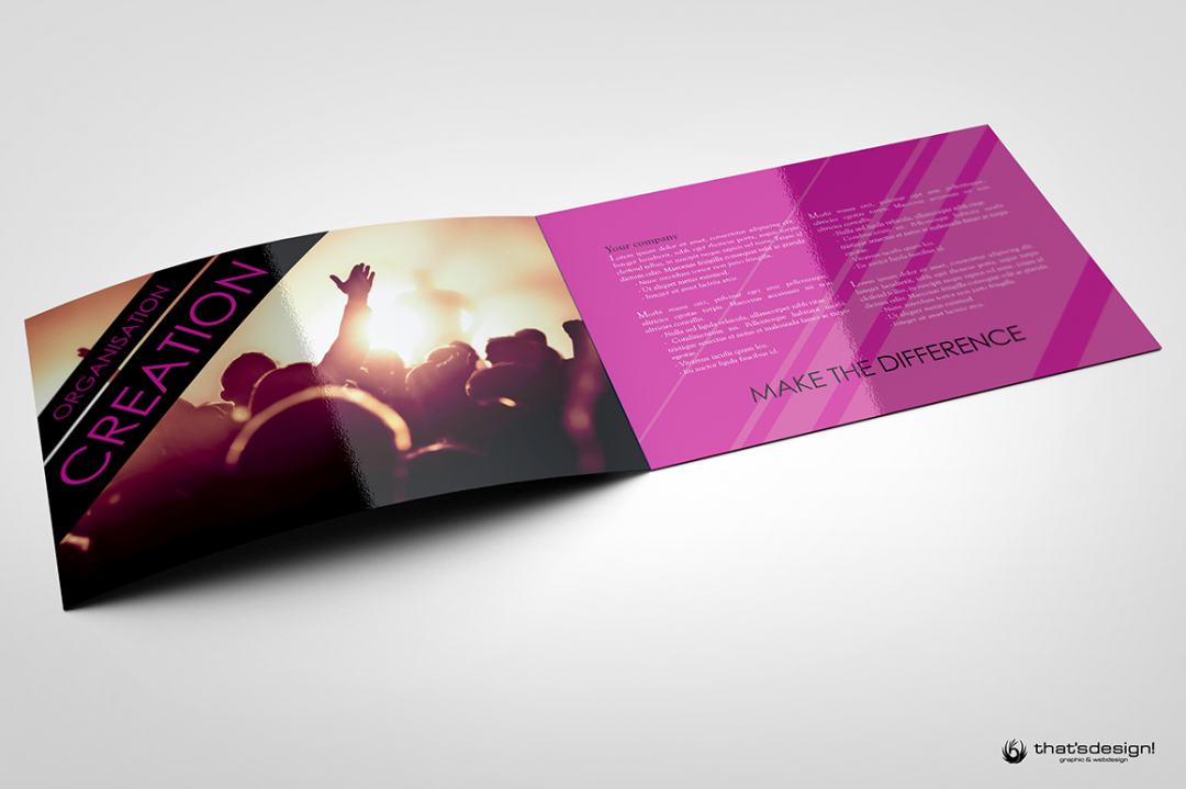 Download this Event & Artistic Brochure Template PSD Design 8 Pages, perfect for an Artistic Booking Agency or a Event Management, editable with photoshop