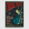 Music Festival Flyer Template PSD download V6