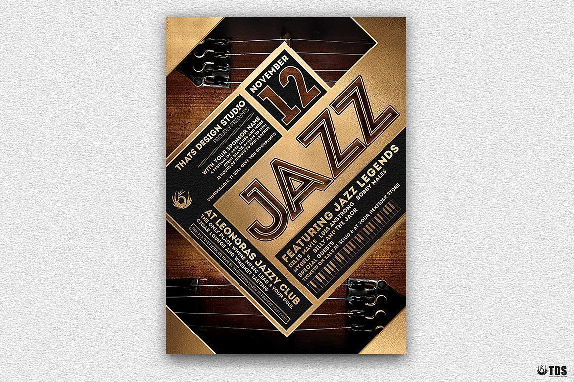 Jazz Festival Flyer Template V5