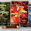 4 FLYERS PSD - Four Seasons Flyer Templates
