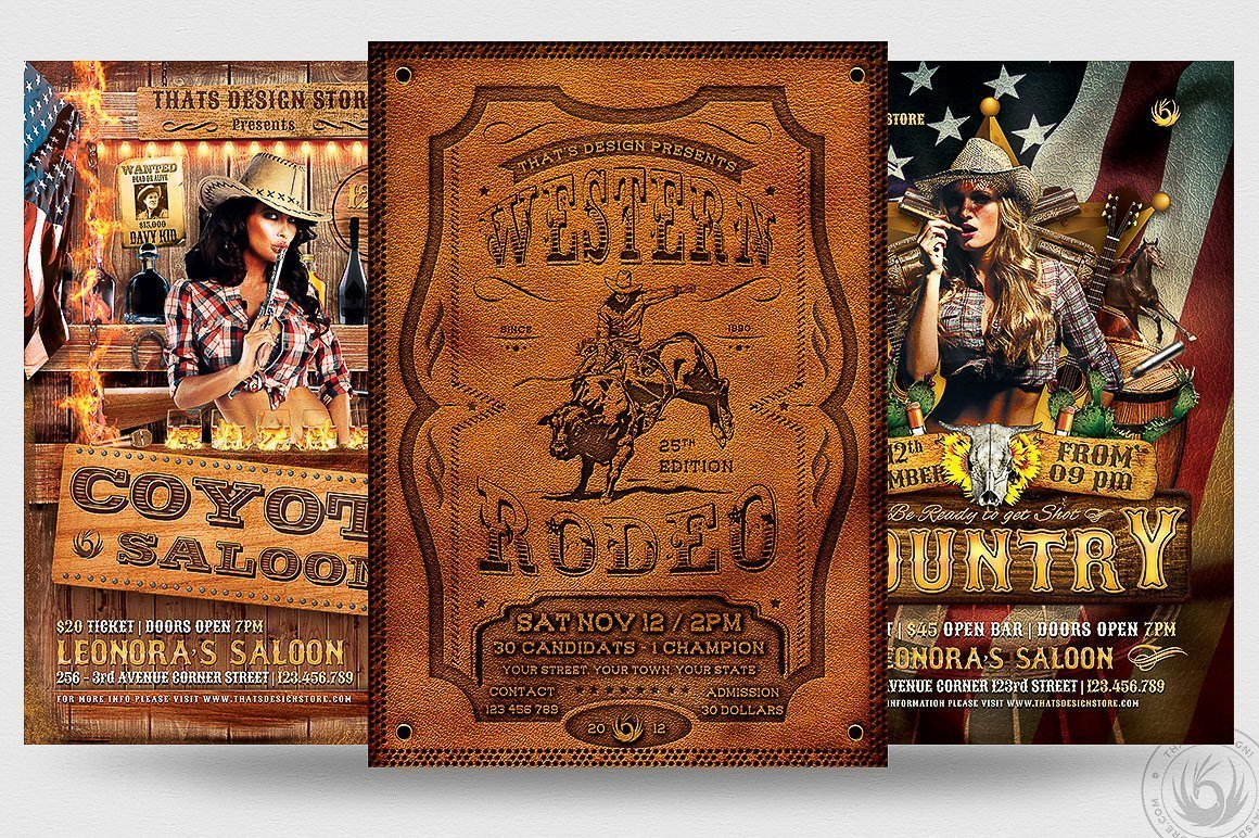 3 FLYERS - Western Flyer Bundle