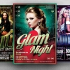 Ladies Night Flyer templates Psd download Bundle V2