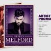 Artist Promotion Flyer Template psd download V1