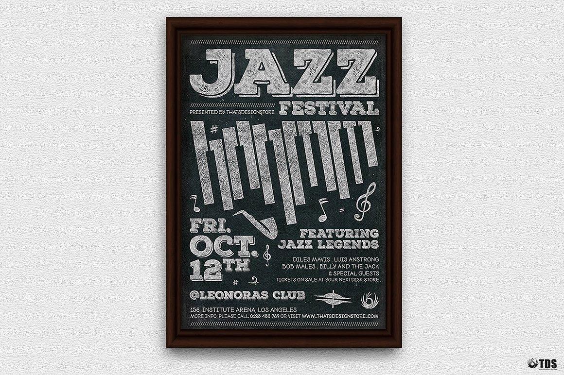 Jazz Festival Flyer Template V7