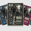 Music Festival Flyer Template V14