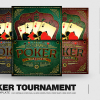 Poker Tournament Flyer Template psd for photoshop