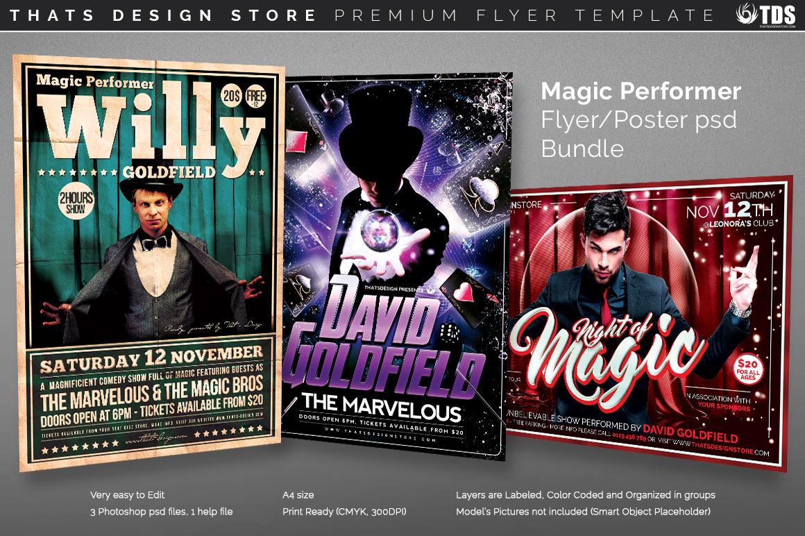 Magic Flyer Templates