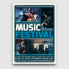 Music Festival Flyer Template PSD download V5