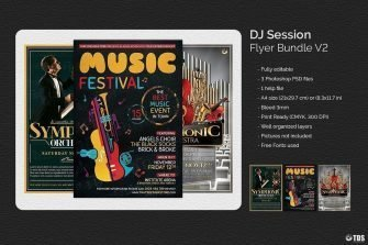 Special Orchestra Flyer Bundle