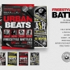 Freestyle Rap Battle Flyer Bundle V1
