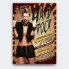 Hard Rock Underground Flyer Template