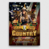 Country Liveflyer template /Western flyer template