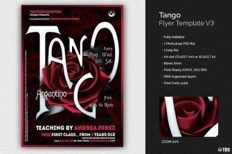 Tango Flyer Template V3