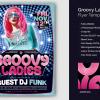 Groovy Ladies Disco Flyer Template