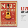 Live Concert Flyer Template V13