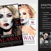 Artist Promotion Flyer Template V2