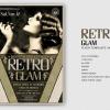 Retro Glam Flyer Template V4