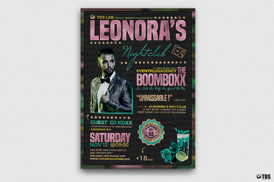 Nightclub Promotion Flyer Template