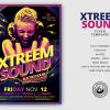 Xtreem Sound Flyer Template