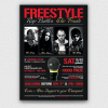 Freestyle Rap Battle Flyer Template V8