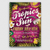 Summer Tropics Flyer Template