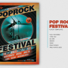 Pop Rock Festival Flyer Template