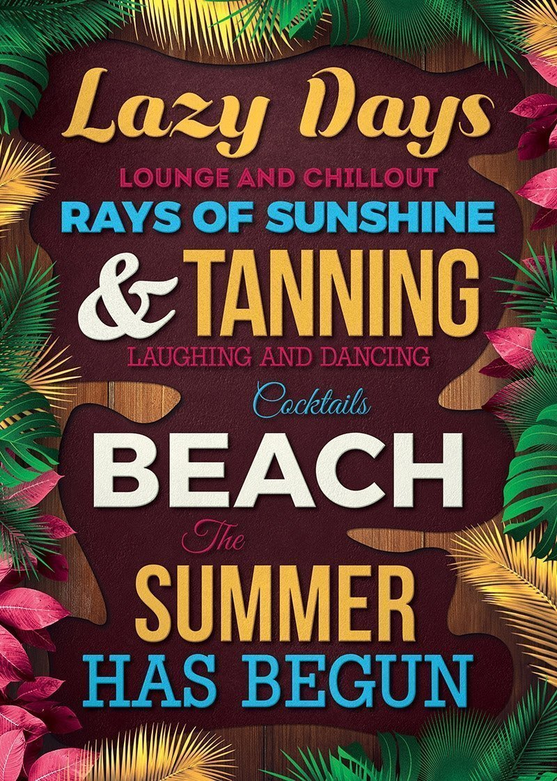top 25 top new summer psd flyer templates for photoshop