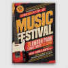 Music Festival Flyer Template V17