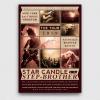 Live Concert Flyers posters Templates V2, Alternative band, Indie pop rock festival psd
