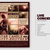 Live Concert Flyer Template V2