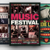 Download Concert Flyer Templates with affordable price.You can customize in Photoshop so you'll save your time and your money creating amazing Premium live band Flyers.