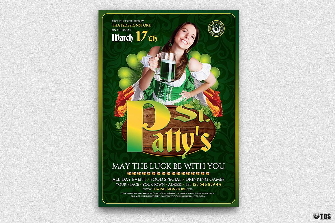 Saint Patricks Day Flyer Template V3