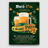 Saint Patrick Flyer Template V5