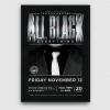 Black Party Flyer Template V4