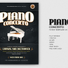 Piano Concerto Flyer Template V4