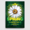 Spring Day Flyer Template PSD Download V3