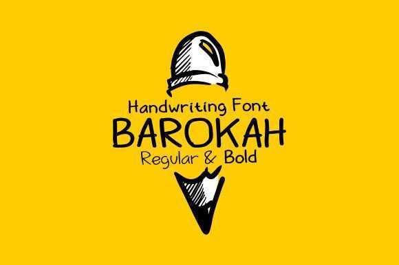 Barokah font